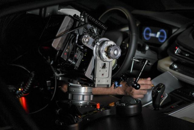 Chris Webb BMW camera slider fluid nodal head 1